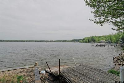 Saratoga County Single Family Home For Sale: 40 Stony Point Rd