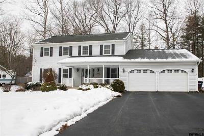 Saratoga Springs NY Single Family Home For Sale: $395,000