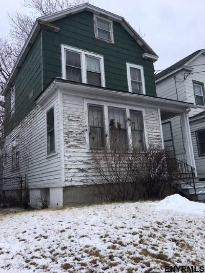 Albany NY Single Family Home For Sale: $64,900