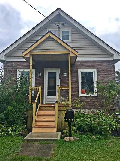 Gloversville NY Single Family Home For Sale: $79,000