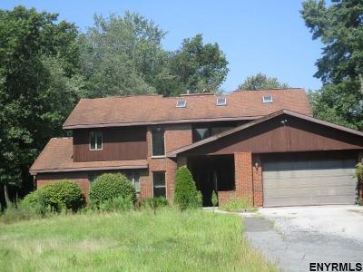 Mechanicville, Stillwater Single Family Home For Sale: 51 McDermott Rd