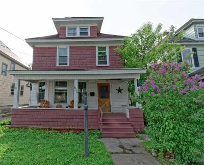 Schenectady Single Family Home For Sale: 936 Livingston Av