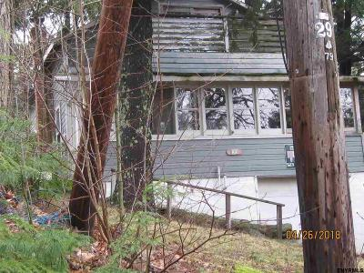 Rensselaer County Single Family Home New: 25 North Shore Rd