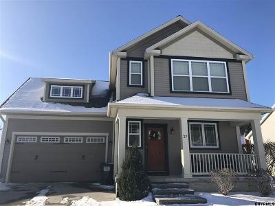 Saratoga County Single Family Home New: 27 Central Av