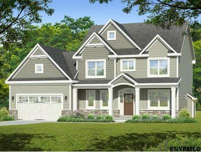 Saratoga County Single Family Home New: Sand Hill Rd