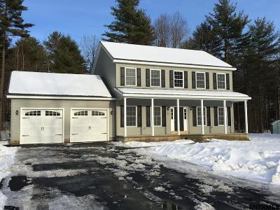 Saratoga County Single Family Home New: 060 Brampton La