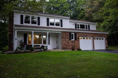 Saratoga Springs Single Family Home Back On Market: 220 Locust Grove Rd