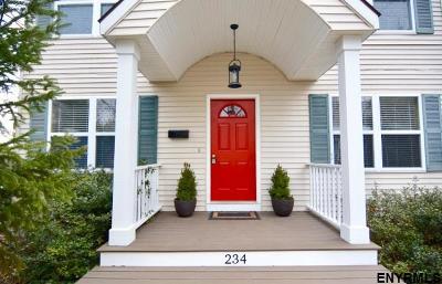 Saratoga Springs Single Family Home For Sale: 234 Maple Av