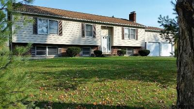 Saratoga County Single Family Home For Sale: 1402 Peaceable St