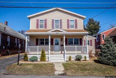 Cohoes Single Family Home For Sale: 10 Lansing La