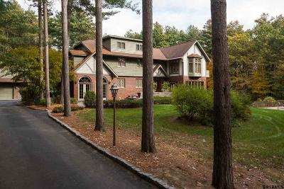 Saratoga County Single Family Home For Sale: 91 Luther Rd