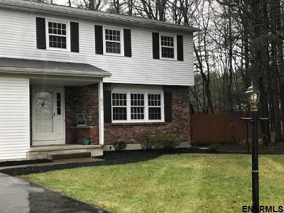 Saratoga Springs Single Family Home For Sale: 5 Stuyvesant Ct