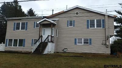 Troy Single Family Home For Sale: 114 Gillette Av