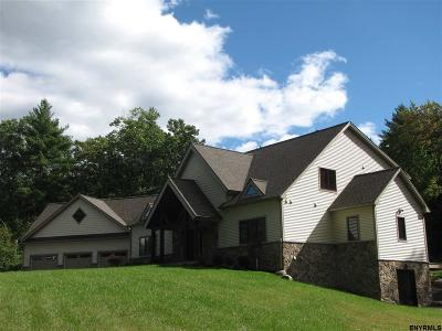 Saratoga County Single Family Home For Sale: 1000 New York State Route 29