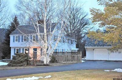 Voorheesville NY Single Family Home Sold: $320,000