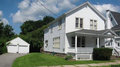 Gloversville Single Family Home For Sale: 17 Fox St