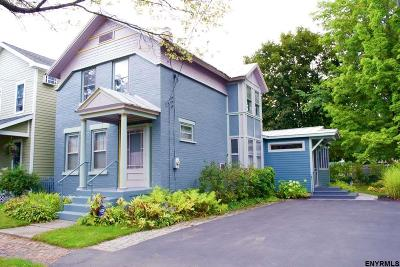 Saratoga Springs Single Family Home For Sale: 1 Jefferson St