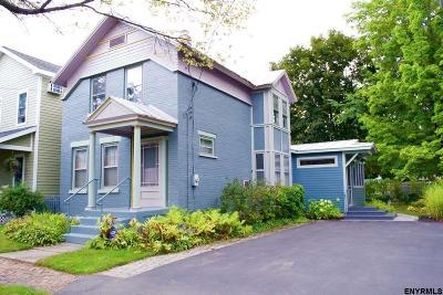 Saratoga Springs Single Family Home Price Change: 1 Jefferson St