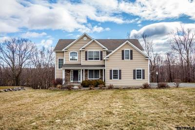 North Greenbush Single Family Home Price Change: 25 Crimson Circle