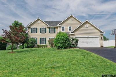 Guilderland Single Family Home For Sale: 607 Stream La