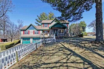 Saratoga County Single Family Home For Sale: 43 Stony Point Rd