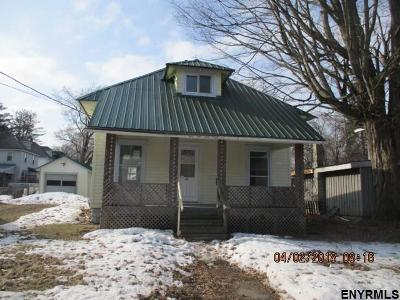 Gloversville NY Single Family Home For Sale: $23,999