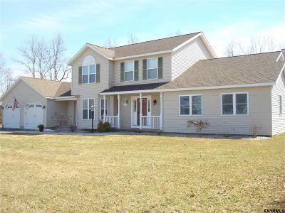 Schenectady County Single Family Home For Sale: 1 Meadowview La
