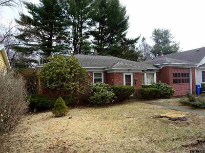 Albany NY Single Family Home For Sale: $149,900