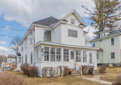 Gloversville Multi Family Home For Sale: 19 East Eleventh Av