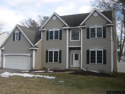 Saratoga Springs NY Single Family Home For Sale: $534,900