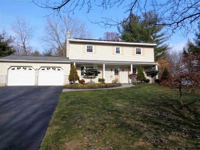 Clifton Park Single Family Home For Sale: 71 Apple Tree La