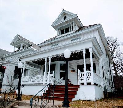 Troy Single Family Home For Sale: 192 7th Av