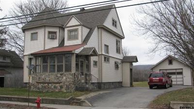 Gloversville NY Single Family Home New: $89,900