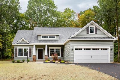 Saratoga Single Family Home For Sale: Lot 20 Schuyler Hills Dr