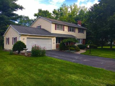 Niskayuna NY Single Family Home Pend (Under Cntr): $329,900