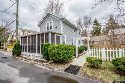 Saratoga County Single Family Home New: 1 Second St
