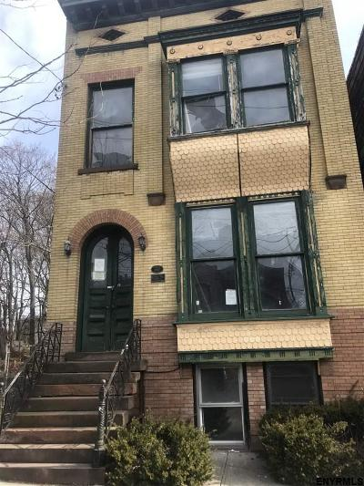 Albany Multi Family Home New: 323 Clinton Av