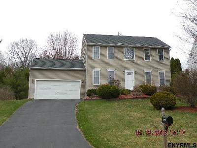 Clifton Park Single Family Home New: 118 Old Coach Rd