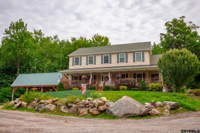 Saratoga County Single Family Home Price Change: 181 Harris Rd