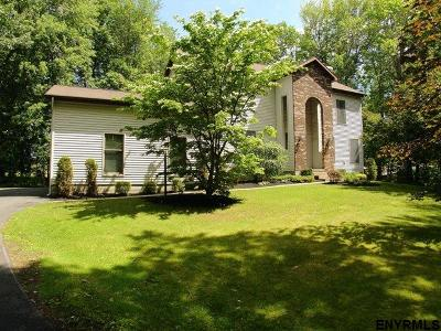 Saratoga County Single Family Home New: 126 Round Lake Rd