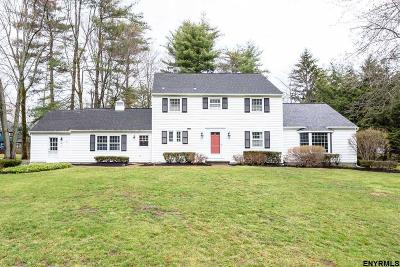 Albany County Single Family Home New: 5 Olde Coach Rd