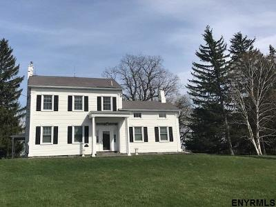Saratoga County, Albany County Single Family Home For Sale: 525 Meadowdale Rd