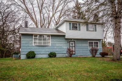 Colonie Single Family Home Back On Market: 45 Eberle Rd