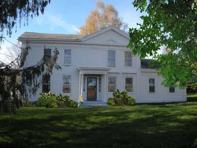 Albany County, Saratoga County, Schenectady County, Warren County, Washington County Single Family Home For Sale: 829 Washington County Route 64
