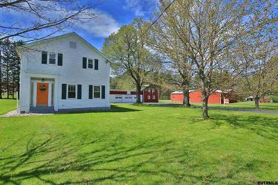 Rensselaer County Single Family Home For Sale: 545 Garfield Rd