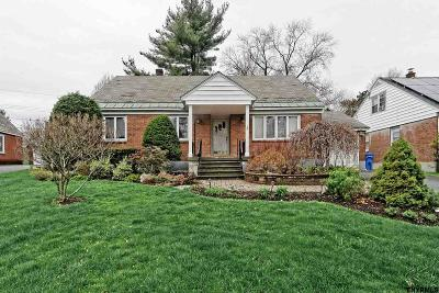 Albany Single Family Home Price Change: 22 Marwood St
