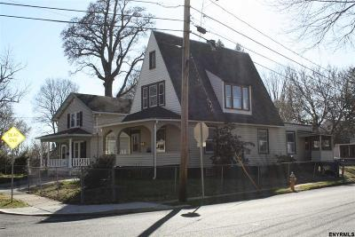 Scotia Single Family Home For Sale: 302 South Ten Broeck St