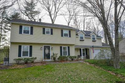 Saratoga County Single Family Home For Sale: 28 Longwood Dr