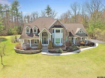 Saratoga County Single Family Home For Sale: 15 Leaward Way