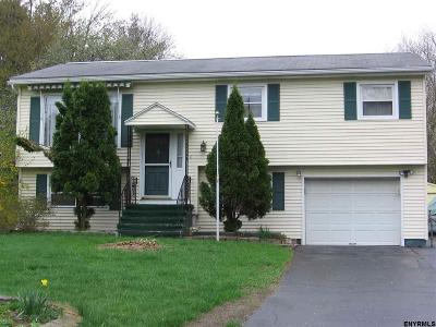 Clifton Park Single Family Home For Sale: 9 Cortland Blvd